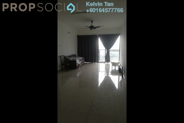 Condominium For Rent in Skycube Residence, Sungai Ara Freehold Unfurnished 3R/2B 1.1k