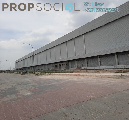 Factory For Rent in Bukit Raja Industrial Park, Klang Freehold Unfurnished 0R/0B 107k