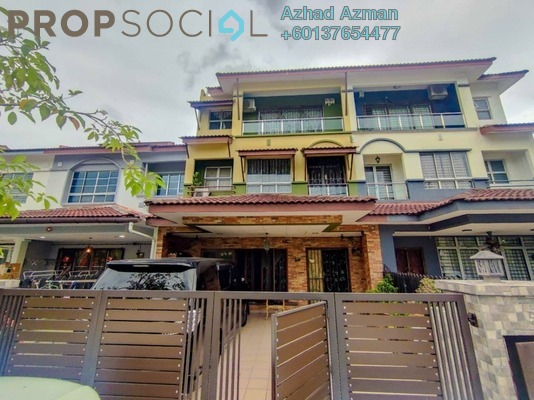 Terrace For Sale in Taman Damai Utama, Bandar Kinrara Freehold Semi Furnished 5R/4B 929k