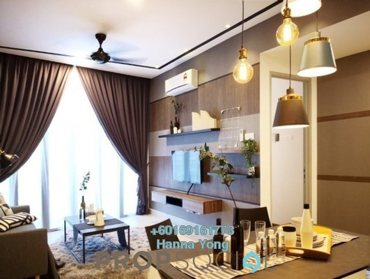 Serviced Residence For Rent in KL Gateway Premium Residences, Bangsar South Freehold Fully Furnished 2R/2B 3.6k