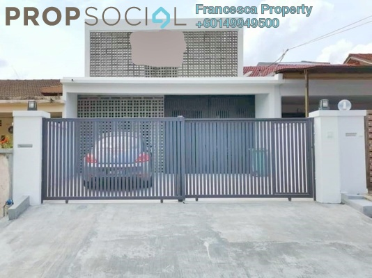 Terrace For Sale in Happy Garden, Old Klang Road Freehold Unfurnished 3R/3B 1.23m
