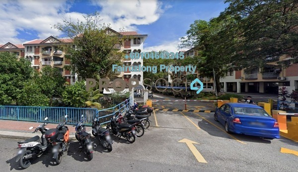Apartment For Rent in Intan Apartment, Setiawangsa Freehold Fully Furnished 3R/2B 1.5k
