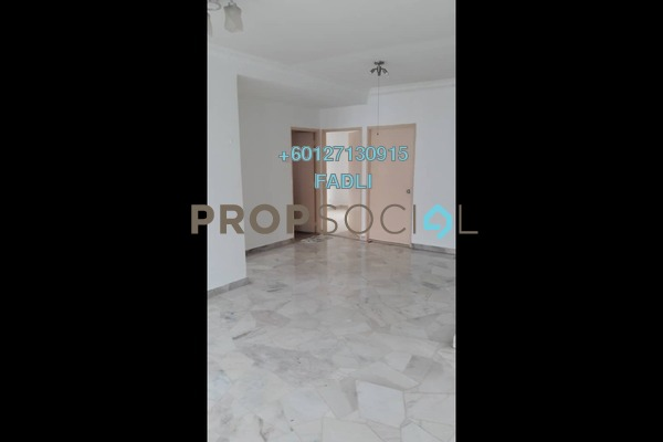 Apartment For Sale in Baiduri Apartment, Desa Pandan Freehold Unfurnished 3R/2B 360k