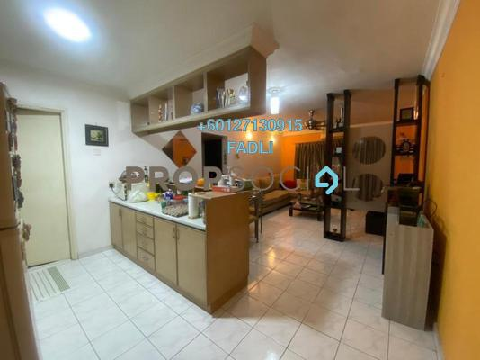 Apartment For Sale in Desa Sri Puteri Apartments, Desa Petaling Freehold Semi Furnished 3R/2B 250k