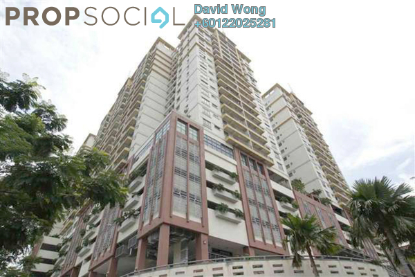 Serviced Residence For Sale in D'Alamanda, Cheras Leasehold Fully Furnished 3R/2B 550k