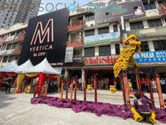 Serviced Residence For Sale in M Vertica, Cheras Freehold Semi Furnished 3R/2B 450k