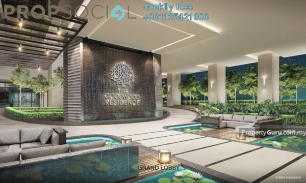 Condominium For Sale in The Goodwood Residence, Bangsar South Freehold Semi Furnished 3R/2B 675k