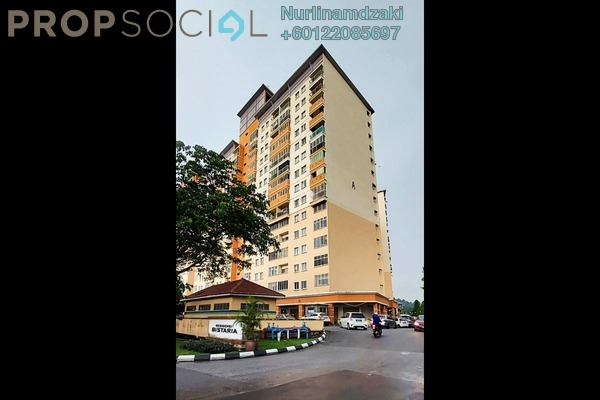 Apartment For Sale in Residensi Bistaria, Ukay Freehold Fully Furnished 3R/2B 380k