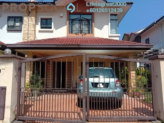 Semi-Detached For Sale in Mutiara Indah, Puchong Freehold Fully Furnished 4R/3B 699k