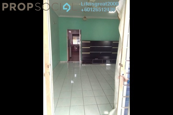 Terrace For Sale in PU12, Bandar Puchong Utama Freehold Semi Furnished 4R/3B 440k