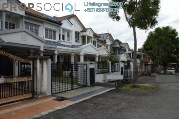 Terrace For Sale in BP2, Bandar Bukit Puchong Freehold Semi Furnished 4R/3B 478k
