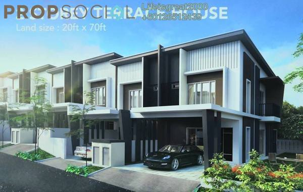 Terrace For Sale in Taman Mentari, Raub Freehold Unfurnished 4R/3B 368k