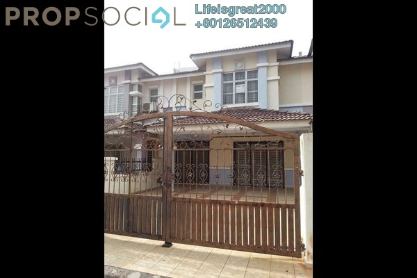Terrace For Sale in PP 5, Taman Putra Prima Freehold Unfurnished 4R/3B 620k