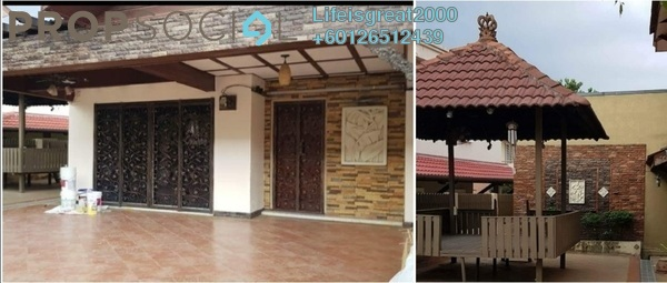 Terrace For Sale in PP 4, Taman Putra Prima Freehold Semi Furnished 5R/4B 680k