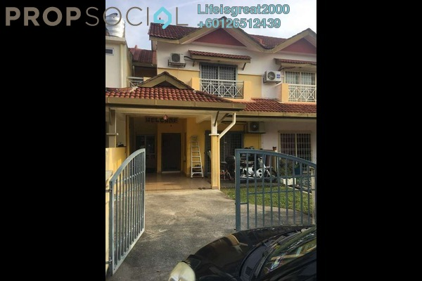 Terrace For Sale in Taman Tasik Prima, Puchong Freehold Semi Furnished 4R/3B 499k