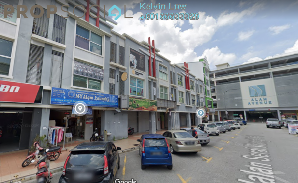 Shop For Sale in Alam Avenue, Shah Alam Freehold Unfurnished 0R/0B 1.6m