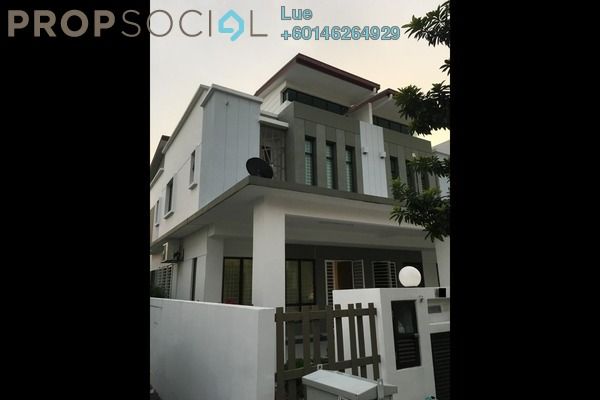 Terrace For Sale in Setia Indah, Setia Alam Freehold Semi Furnished 3R/3B 800k