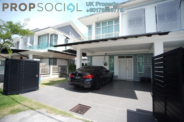 Semi-Detached For Sale in Royal Ivory 2, Bandar Saujana Putra Freehold Fully Furnished 4R/3B 675k