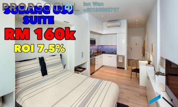 SoHo/Studio For Sale in USJ 1, UEP Subang Jaya Freehold Unfurnished 1R/1B 160k