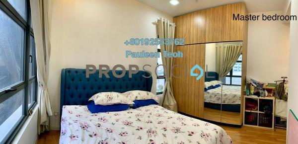 Serviced Residence For Sale in Lakeville Residence, Jalan Ipoh Leasehold Semi Furnished 3R/2B 800k