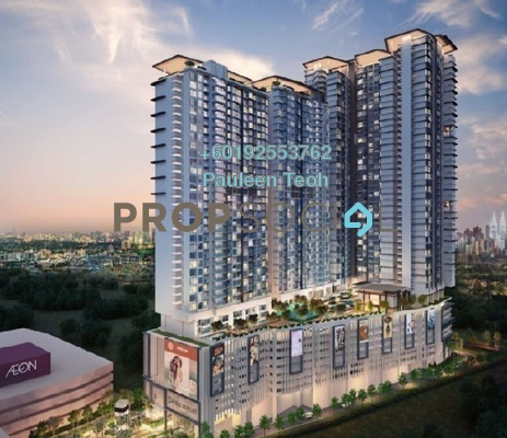 Serviced Residence For Sale in Lavile, Kuala Lumpur Freehold Semi Furnished 3R/2B 963k