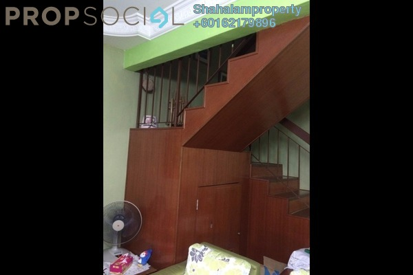 Terrace For Sale in Sunway Kayangan, Shah Alam Leasehold Unfurnished 4R/3B 550k