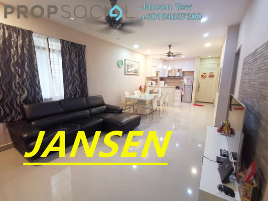 Condominium For Sale in Asia Heights, Farlim Freehold Fully Furnished 3R/2B 370k