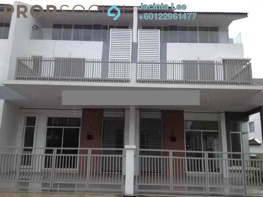 Terrace For Sale in BM Utama, Bukit Minyak Freehold Semi Furnished 5R/4B 504k