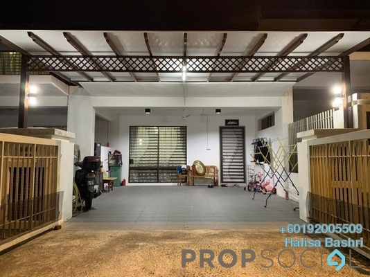 Terrace For Sale in Desa Budiman, Bandar Sungai Long Freehold Semi Furnished 4R/3B 600k