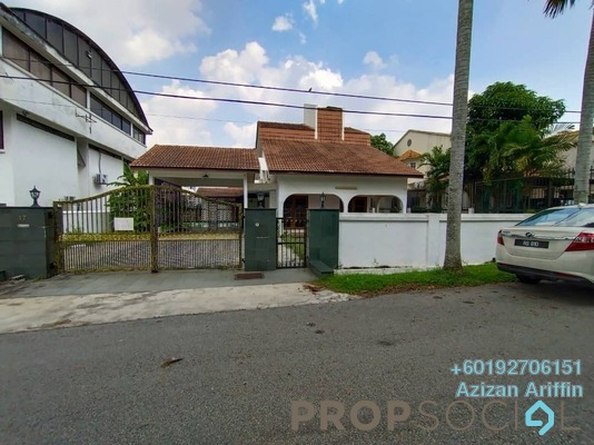 Bungalow For Rent in Section 3, Shah Alam Freehold Unfurnished 4R/4B 3.8k