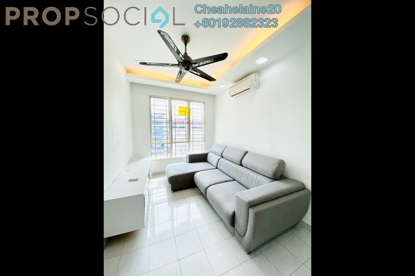 Apartment For Sale in 162 Residency, Selayang Freehold Semi Furnished 3R/2B 330k