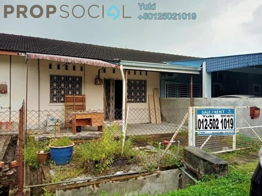 Terrace For Sale in Taman Rapat Setia, Ipoh Leasehold Unfurnished 3R/2B 168k