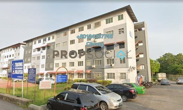 Apartment For Sale in Taman Sutera Wangi, Batu Berendam Freehold Unfurnished 3R/1B 70k
