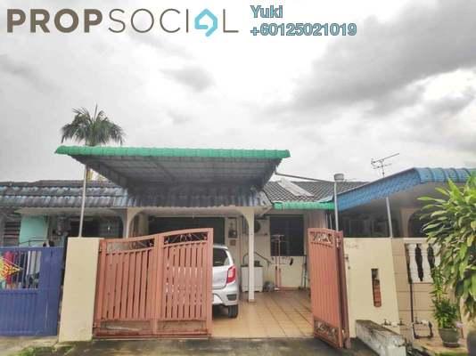 Terrace For Sale in Taman Bercham Baru, Ipoh Leasehold Unfurnished 3R/2B 210k