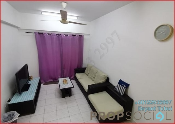 Apartment For Rent in Arena Green, Bukit Jalil Freehold Fully Furnished 3R/2B 1.35k