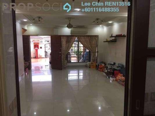 Terrace For Sale in Taman Segar Perdana, Cheras Freehold Semi Furnished 4R/3B 835k