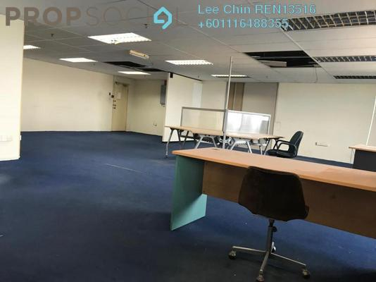 Office For Sale in Wisma Zelan, Bandar Sri Permaisuri Leasehold Semi Furnished 3R/0B 355k