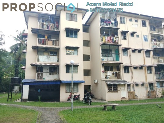 Apartment For Rent in Section 2, Wangsa Maju Freehold Semi Furnished 3R/2B 1k