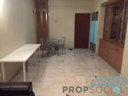 Condominium For Rent in Vista Damai, KLCC Freehold Fully Furnished 1R/1B 2k