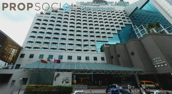 Condominium For Rent in Swiss Garden Residences, Pudu Freehold Fully Furnished 1R/1B 1.5k