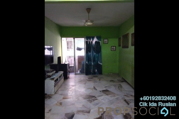Apartment For Sale in Iris Apartment, Taman Desa Freehold Semi Furnished 2R/2B 228k