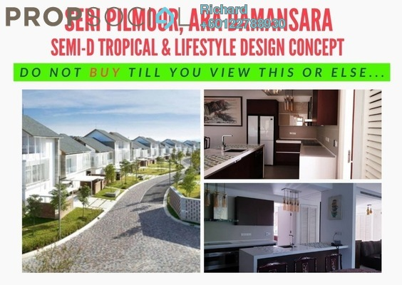 Semi-Detached For Sale in Seri Pilmoor, Ara Damansara Freehold Semi Furnished 6R/6B 3.8m