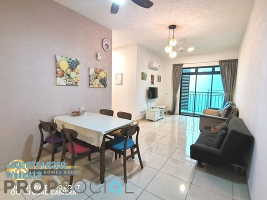 Apartment For Sale in Sky Breeze, Bukit Indah Freehold Fully Furnished 2R/2B 480k