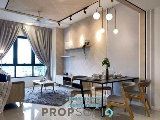 Serviced Residence For Rent in Novum, Bangsar South Freehold Fully Furnished 2R/2B 3.5k