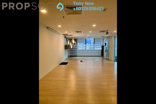Office For Sale in Plaza Mont Kiara, Mont Kiara Freehold Fully Furnished 0R/1B 954k