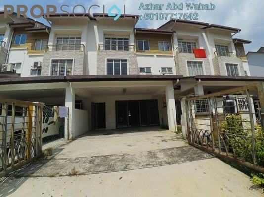 Terrace For Sale in Bandar Nusa Rhu, Shah Alam Freehold Unfurnished 4R/4B 600k