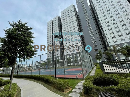 Condominium For Rent in Harmoni Apartment Eco Majestic, Beranang Freehold Semi Furnished 3R/2B 800translationmissing:en.pricing.unit