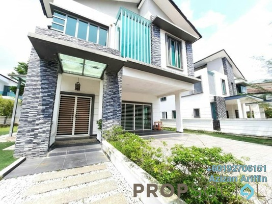Villa For Rent in D'Kayangan, Shah Alam Freehold Unfurnished 6R/6B 5k