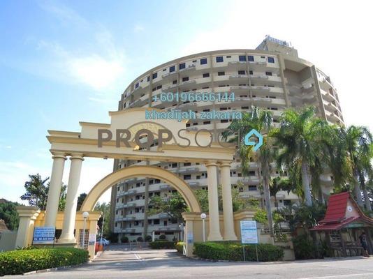 Condominium For Sale in Lagenda Condominium, Klebang Freehold Unfurnished 2R/2B 250k