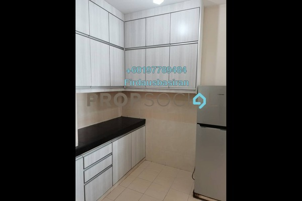 Apartment For Rent in Kristal Heights, Shah Alam Freehold Fully Furnished 3R/2B 1.6k